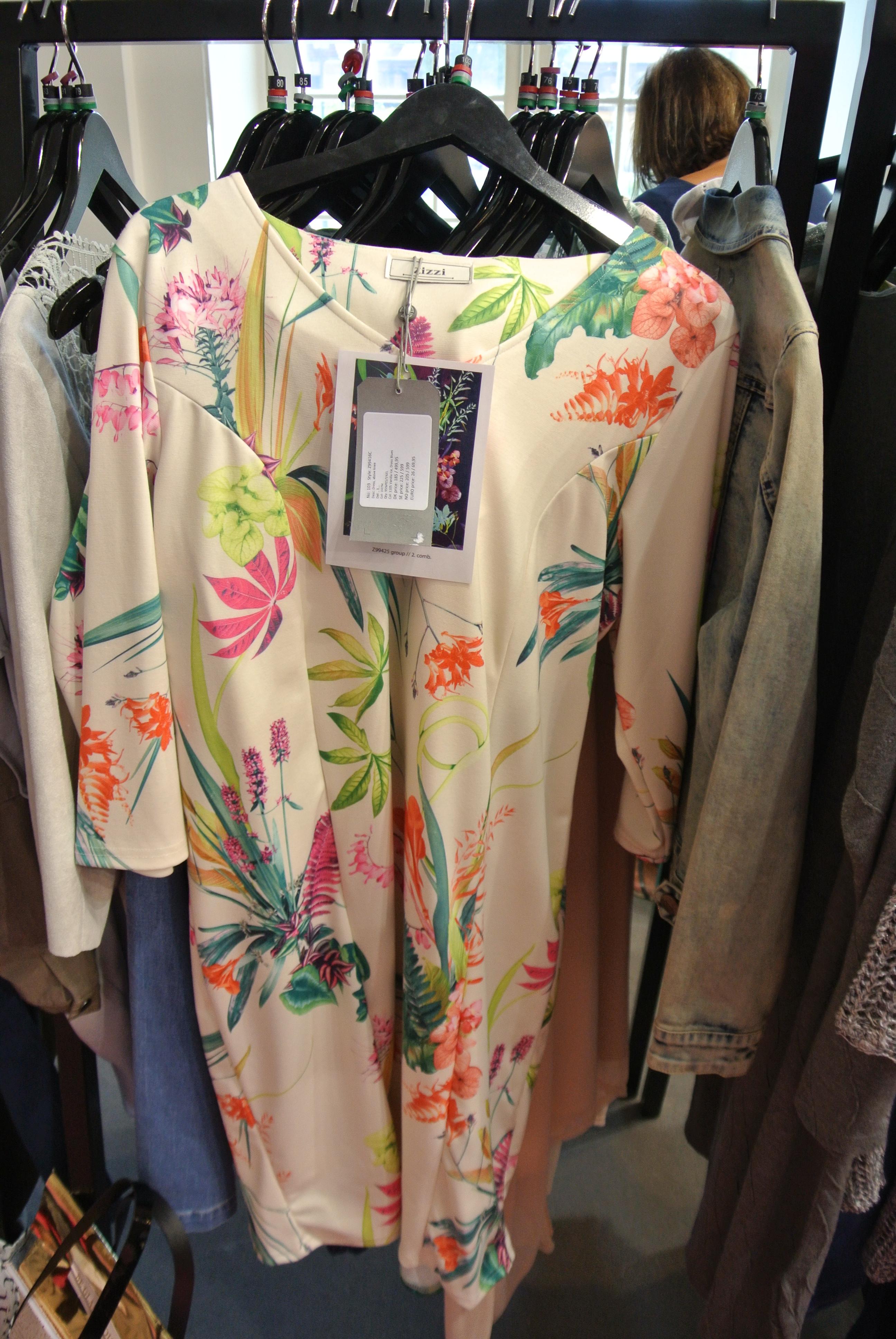 Zizzi Kleid Flower-Print