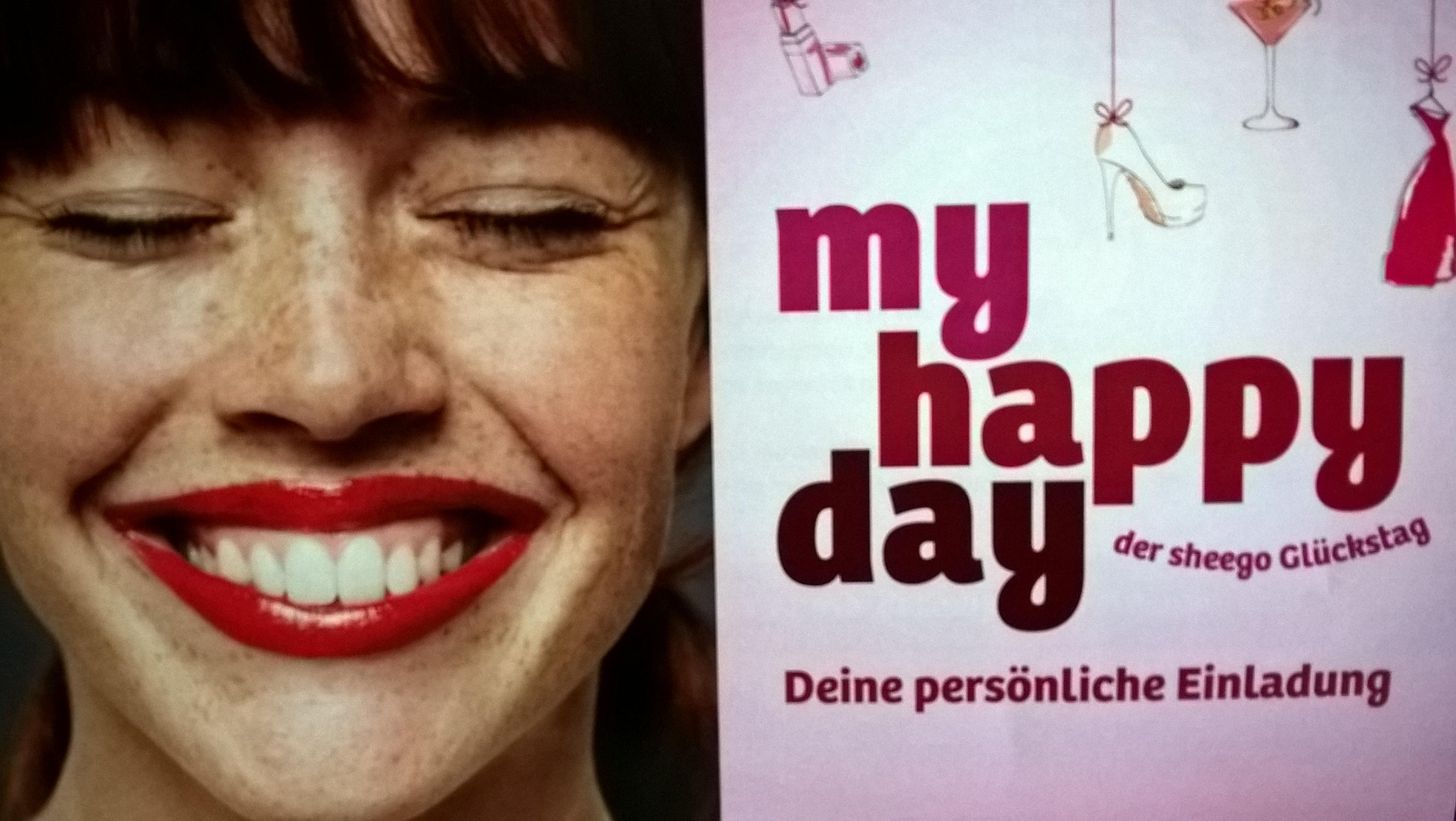 #myhappyday – Ein rundum toller Tag dank Sheego