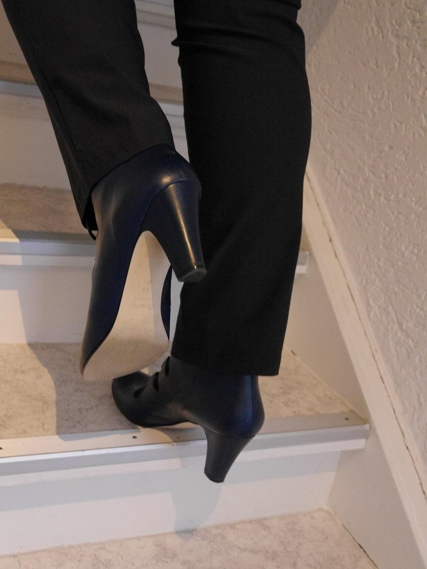 Curvy Fit Treppe steigen