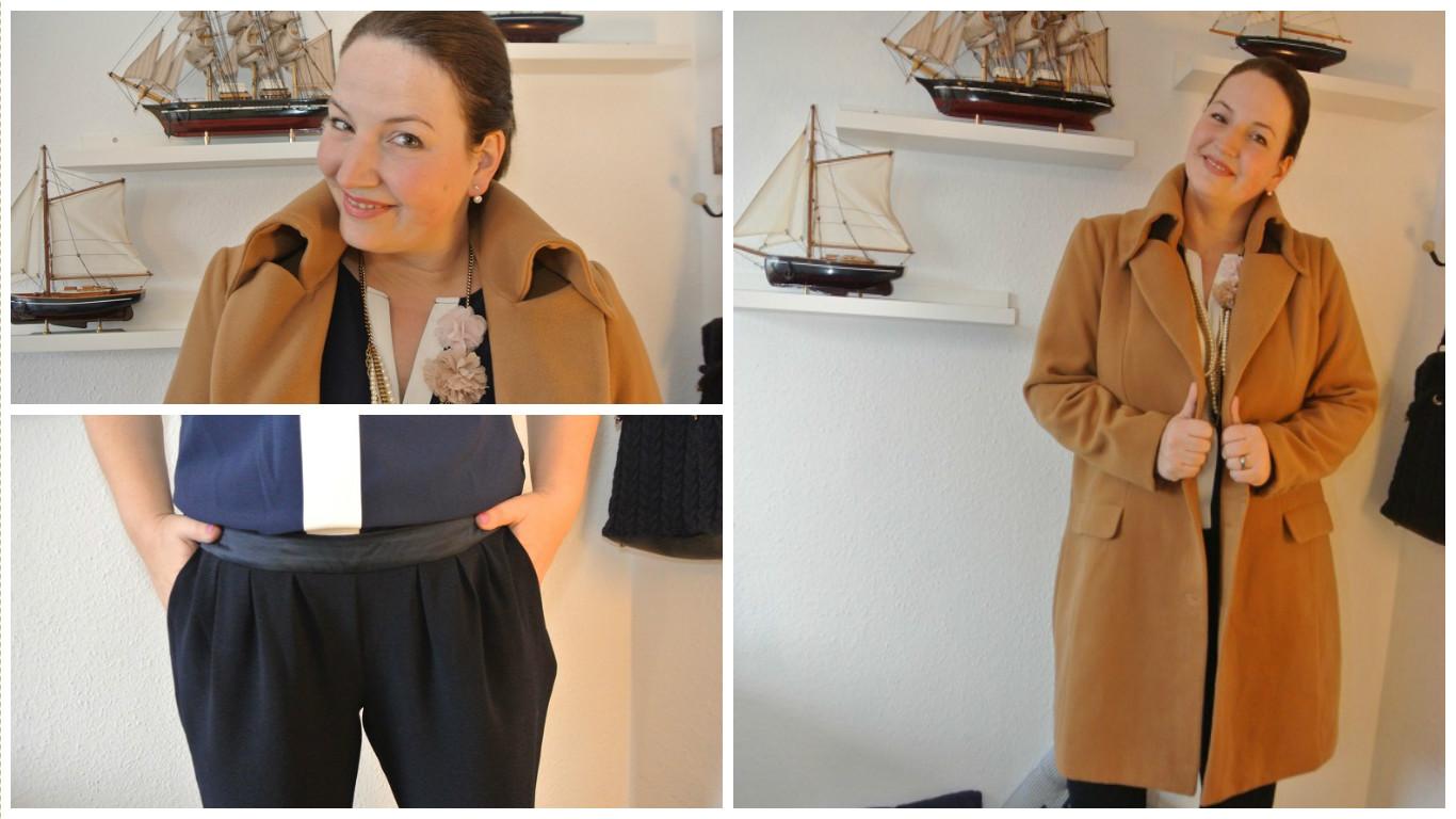 Bundfalten-Hose (aber schick!) und Zweit-Camel-Coat