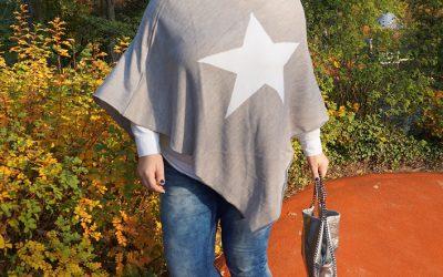 Sternen-Poncho