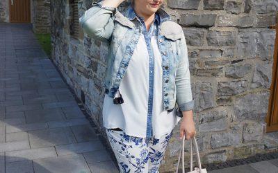 Porzellan-Print meets Jeans