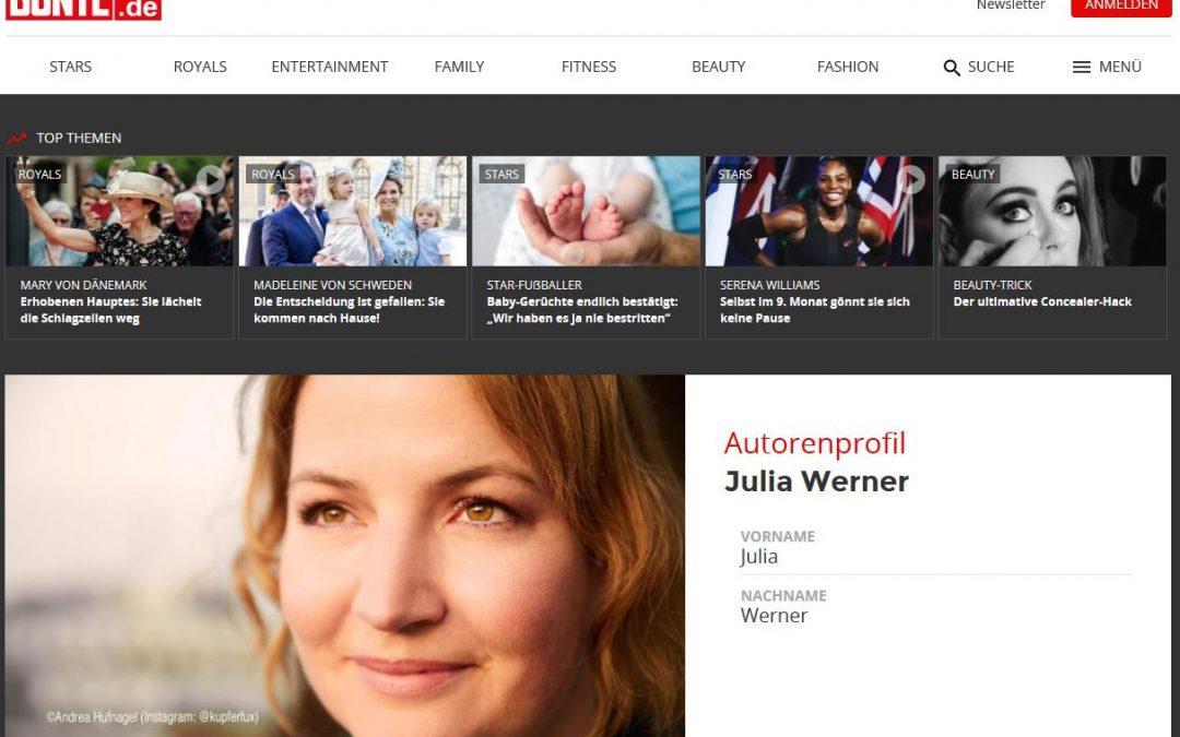 Mein Text auf BUNTE.de: CURVY FASHION – Mode ist für alle da!