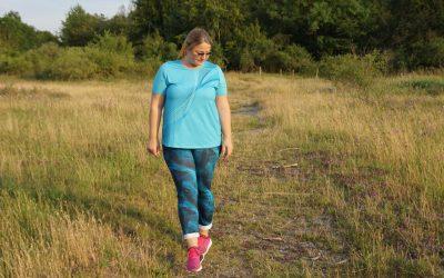 Sunset Walk – Curvy Sport bei heißen Temperaturen