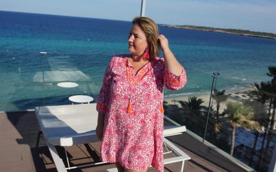 Pink is my happy colour – Tunikakleid