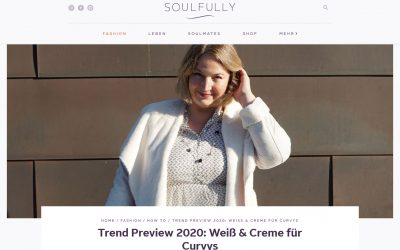 Neuer Beitrag auf Soulfully.de online: 50 shades of white